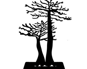 Tree door-Baobab metal jewelry, design for your necklaces, bracelets, and earrings