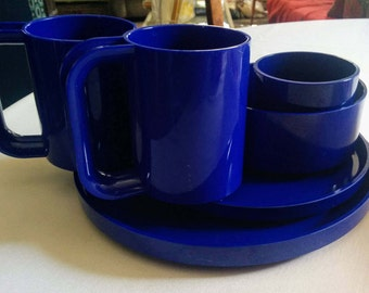 Heller Plasticware, Navy Blue