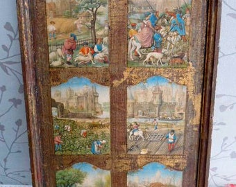 Six panel picture