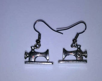 1PC Sewing Machine Fashion Earrings