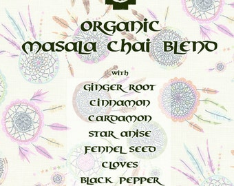 Organic Masala Chai Herbal Tea Blend