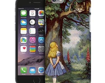 Alice in Wonderland Cheshire Cat Phone Case for iPhone Cases, iPod Touch Cases, and Samsung Galaxy Cases