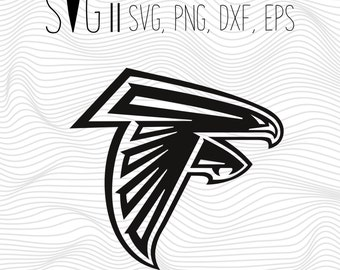Atlanta Falcons Svg, Atlanta Svg, Falcons Svg File For Silhouette For Cricut, SVG EPS PNG Dxf Vector Cutting Files Vinyl Decal, Monogram Svg