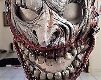 Custom Latex Joker Mask