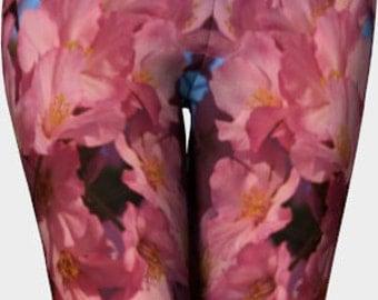 Cherry Blossom Leggings (Washington, D.C.)