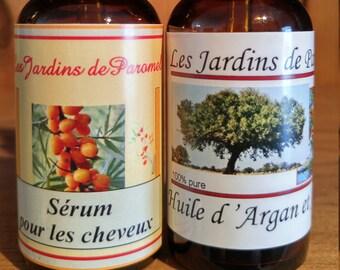 Sea buckthorn and argan oil