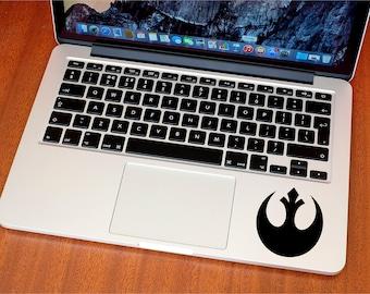 Star Wars Rebel Alliance Sticker - Star Wars Decal - REBEL - MacBook Stickers