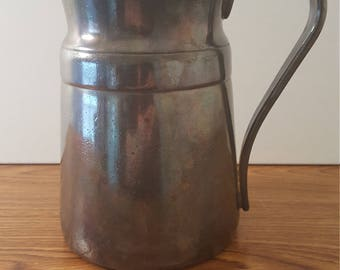 Reed & Barton 64 oz Silver Soldered Pitcher - Model 2859