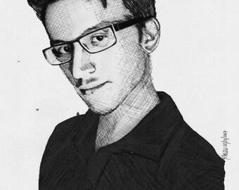 Chris Ray Gun Realism Drawing