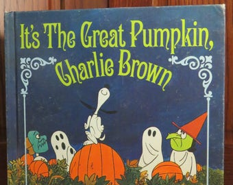 Charlie Brown Stated First Edition (1967) - It's the Great Pumpkin Charlie Brown