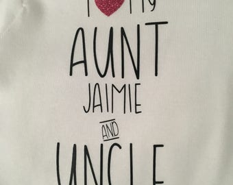 Short Sleeve Personalized Onesie