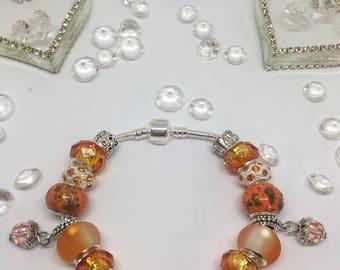 Pandora Style Charm Bracelet - Fully Loaded