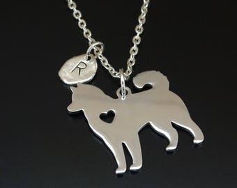 Husky Necklace, Husky Charm, Husky Pendant, Husky Jewelry, Husky Mom, Husky Lover, Husky Gift, Siberian Husky, Husky Dog, Husky Grandma