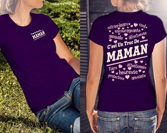 Officiel T-Shirt C'est Un Truc DE MAMAN