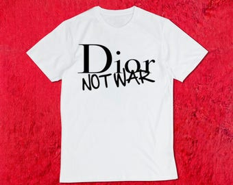Dior not War Organic T-Shirt
