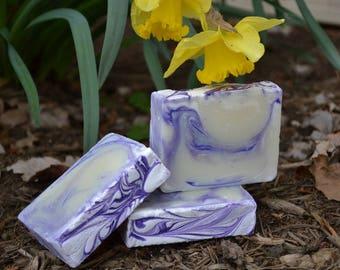Laughter & Lavender Vegan Handcrafted Soap