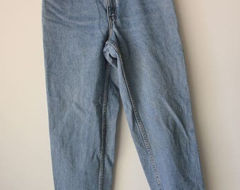 Levi's 550 Vintage High Waisted Denim Jeans