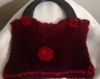 Knitted Hand Purse