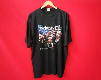 vintage Motley Crue pig metal band music concert mens t shirt