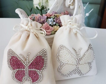 Hand Crafted Lavender Sachets Wedding / Party Favors