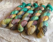 Sugar Rush on Mini Nest Mini Skein Sock Yarn