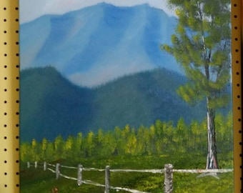 Blue Ridge pasture