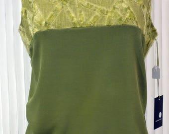 First sleeveless top