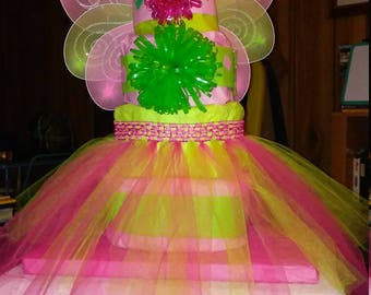 Fairy Ballerina Diaper Cake
