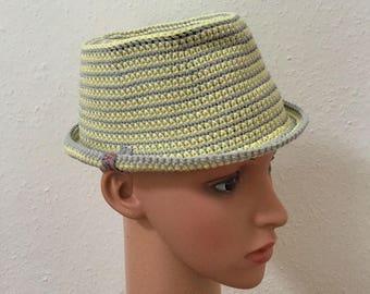 Hat Trilby Gr. 53 cm crochet