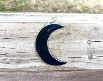 Crescent Moon Key Chain