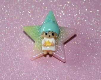 Kiki Little Twin Stars Pastel Brooch
