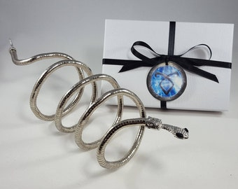 SALE - Isabelle Lightwood Bracelet - Shadowhunters - Whip Snake - Izzy Lightwood - City of Bones - The Mortal Instruments - Cuff - Cosplay