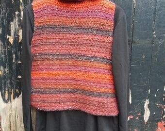 Wild Berry crochet top