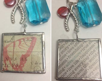 Wishful Adventures Stained Glass Necklace
