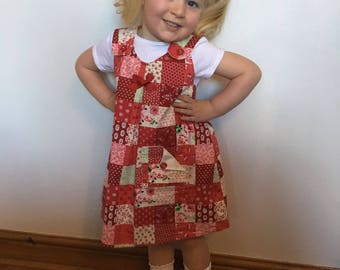 Girl's Pinafore Dress Handmade