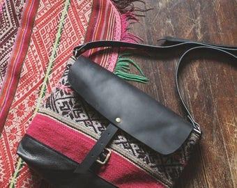 Boho Crossbody, Kilim Bag, Ethnic Crossbody. Ready to Ship, Boho Chic Bag, Leather Laptop Bag, Leather Crossbody, Boho Laptop Bag