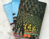 Slim Wallet- Vintage Postcards of Korea- Choose 1