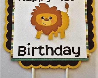 Lion first birthday Etsy