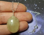 HOLD SCARAB Libyan Desert Glass Tektite Meteorite Impact Glass (From Egypt) Carving Pendant With Sterling Silver Wire Wrapped Loop RARE