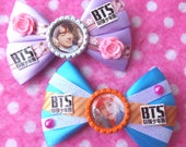 BTS Young Forever Jungkook & V Sexy KPOP Hair Bows