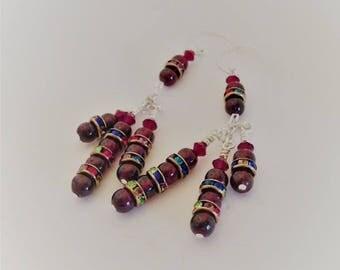 Garnet Glory Earrings