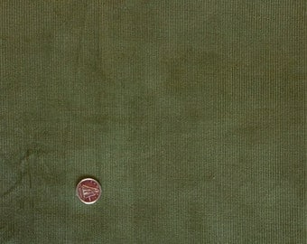 CY001 ~ Green corduroy Pincord Loden green Sage green Corduroy fabric