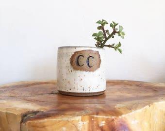 Small C&C Ceramic, perfect for succulents!