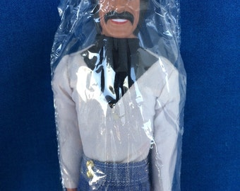 Vintage Sonny Bono Doll in Original  70's Fashion Clothing Sonny & Cher TV Toy by Mego 1970s