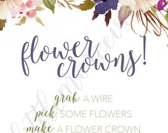Signs - Boho Dreams - Flower Crown