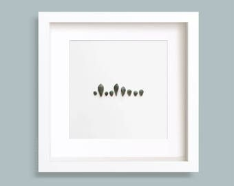 Succulent Leaves, Echeveria, Botanical Print, Greenery, Minimalist Photo, Gallery Wall, Nature Photo, Square Art Prints, Wall art