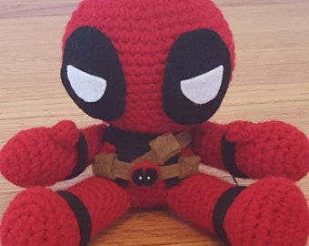 Deadpool Amigurumi Pattern PDF - Merc with A Mouth - Instant Download