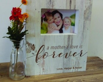 mom picture frame, Christmas gift mom,  mothers day gift,  mothers day, gift for mom,  gift from kids, picture frame, birthday gift,