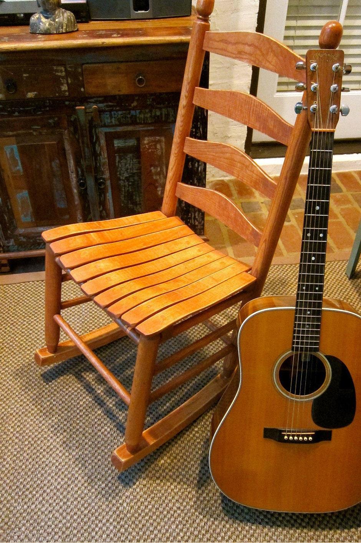 Armless Rocking Chair