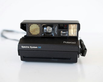 Polaroid Spectra SE Instant Film Camera Cleaned, Tested, and Working analog TheHeartTheHome